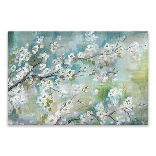 """""""Cherry Blossom Branches"""" Printed Canvas - 35W x 23H x 1.25D - Multi-color"""