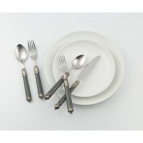 Cambridge Silversmiths Neapolitan 20 Piece Flatware Set. Opens flyout.