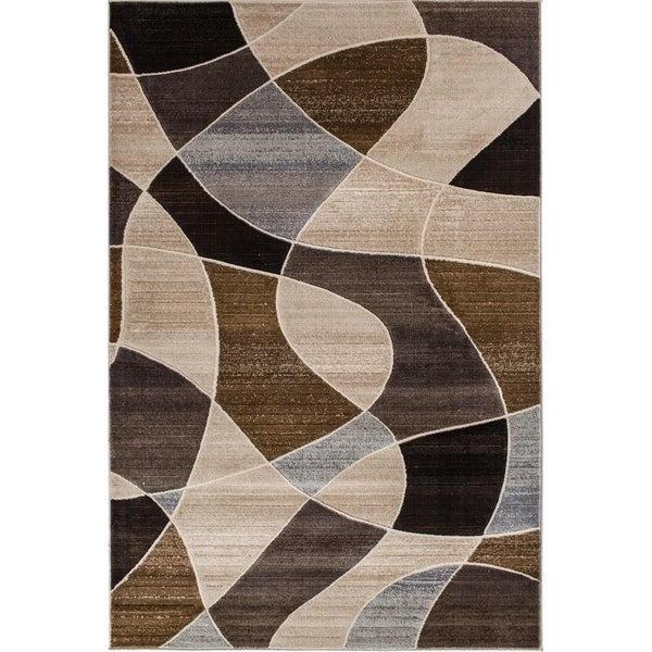 Central Providence Terrain Multicolor Abstract Area Rug