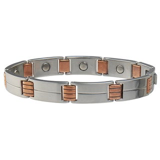 Sabona Magnetic Link Stainless/Copper Bracelet