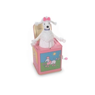 Jack Rabbit Creations Poodle Jack in the Box Toy