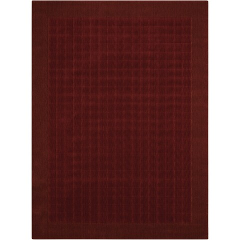 Calvin Klein Loom Select Sienna Red Area Rug by Nourison - 2' x 2'9""