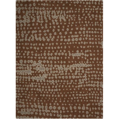 "Calvin Klein Loom Select Earth/Multi Area Rug by Nourison - 3'6"" x 5'6"""