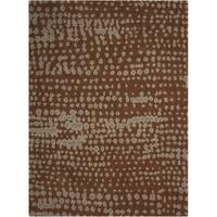 Calvin Klein Loom Select Earth/Multi Area Rug by Nourison - 3'6 x 5'6'