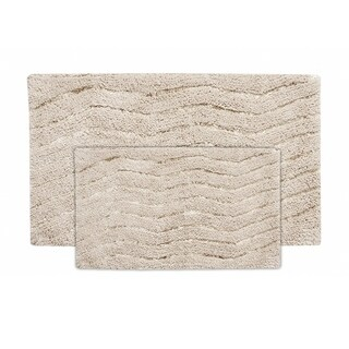 Artesia 2 PC set bath rug natural