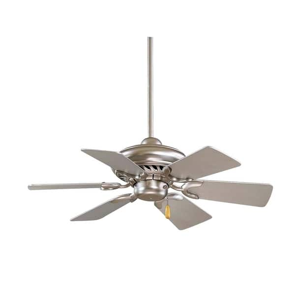 Ceiling Fan In Brushed Steel Finish
