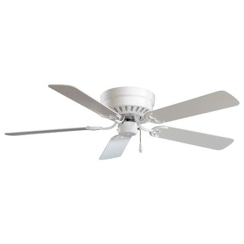 Mesa Ceiling Fan in White finish w/ White blades by Minka Aire