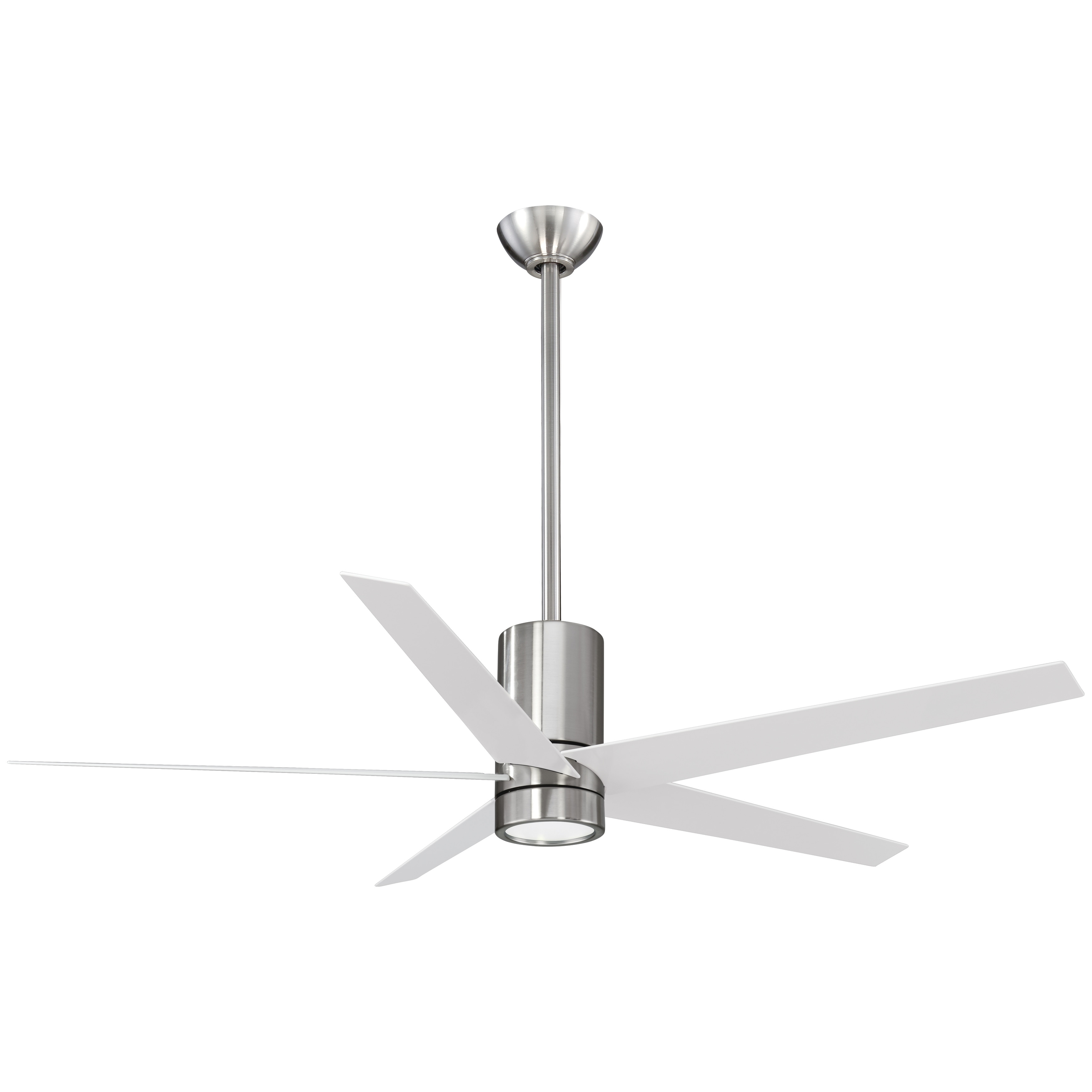 Led Ceiling Fan In Brushed Nickel