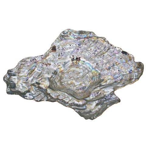 OYSTER Pearl Silver Large Bowl