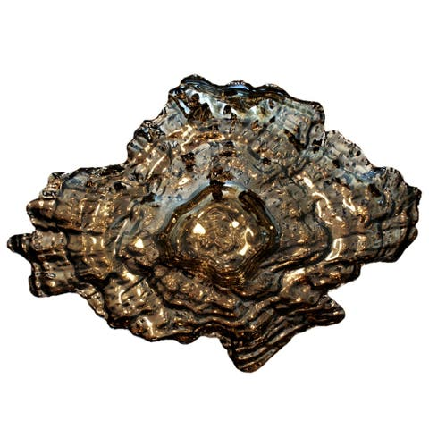 OYSTER Platinum Silver Large Bowl