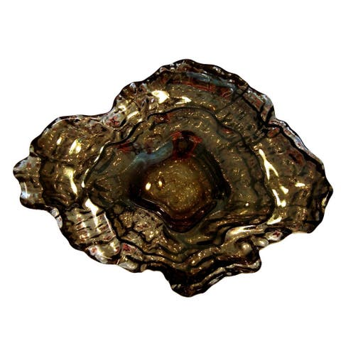OYSTER Platinum Silver Small Bowl