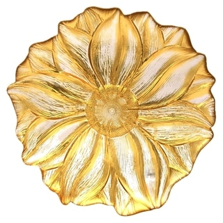 MAGNOLIA Gold Clear Dinner Plate
