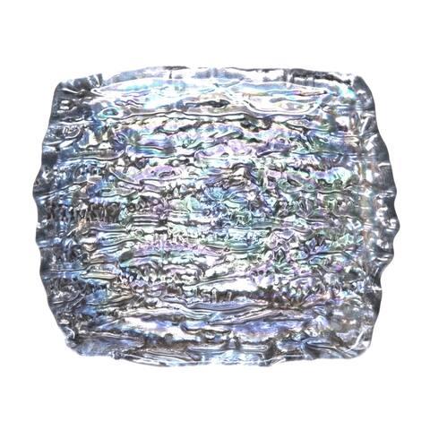 "ROMOS 6"" x 5"" Pearl Silver Dish"