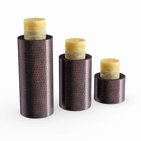 Carbon Loft Barry Metal Candle Holder Set of 3