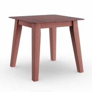 Havenside Home Rohoboth Mahogany Wood Side Table