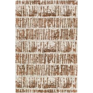 Carson Carrington Oulu Hand Tufted Wool Area Rug 8 X 10 Orange From Carson Carrington Accuweather Shop