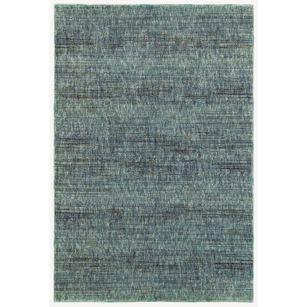 "Carson Carrington Skelleftea Tonal Textures Blue/Grey Area Rug - 3'3"" x 5'2"""