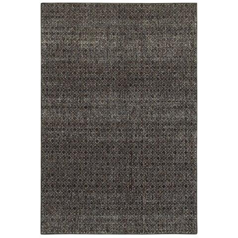 """Carson Carrington Boden Textural Diamonds Black/Grey Area Rug - 3'3"""" x 5'2"""""""
