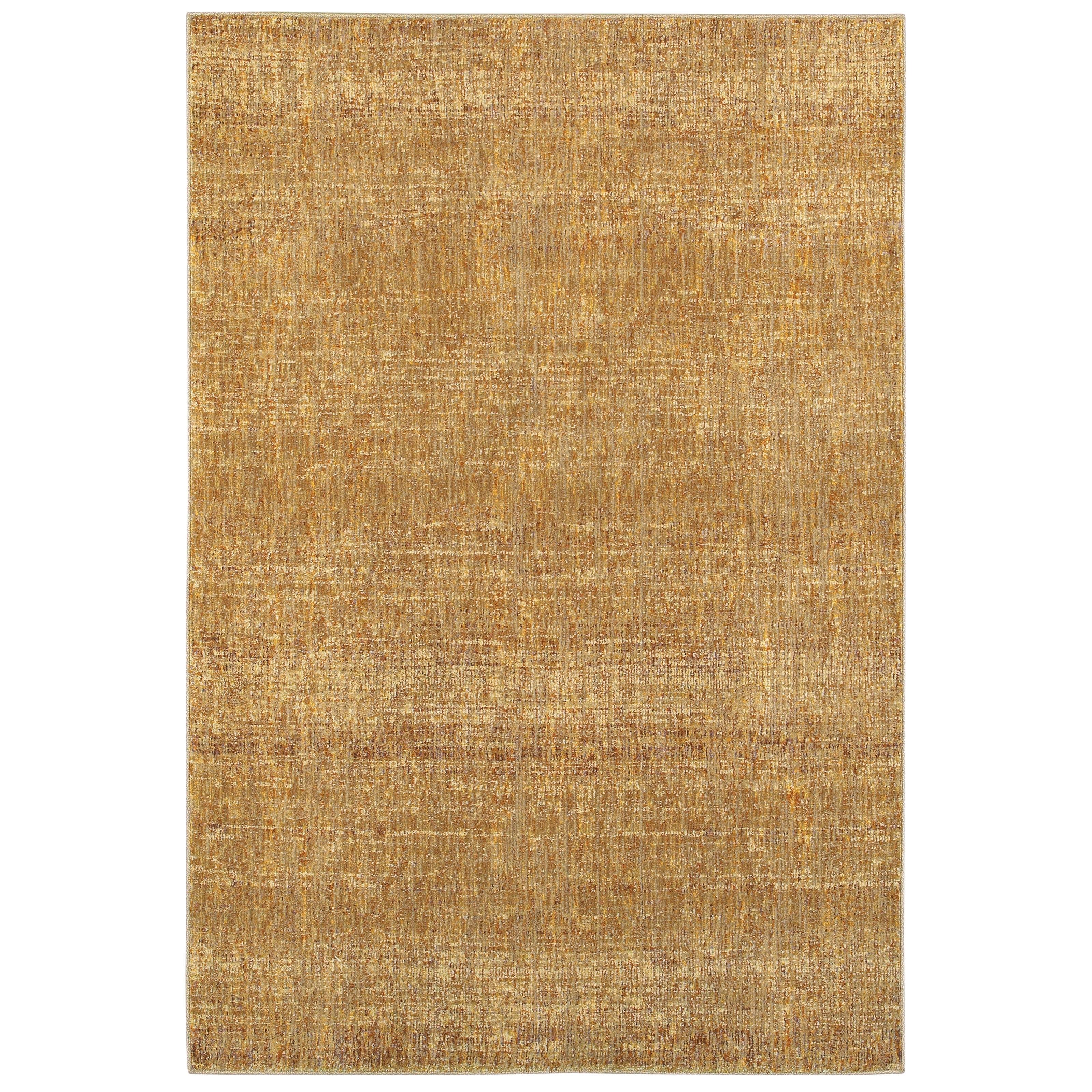 Carson Carrington Skelleftea Tonal Textures Gold/ Yellow Area Rug - 86 x 117 (86 x 117 - Gold/Yellow)