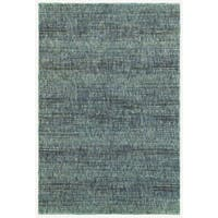 Carson Carrington Skelleftea Tonal Textured Blue/ Grey Area Rug - 10' x 13'2