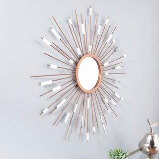 Carson Carrington Alavus Starburst Mirrored Wall Sculpture - Metallic Gold