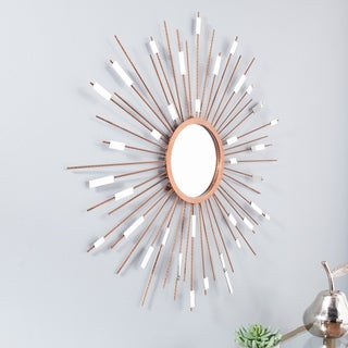 Carson Carrington Alavus Starburst Mirrored Wall Sculpture