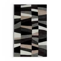 Carson Carrington Ishoj Hand-Tufted Geometric Contemporary Area Rug - 3'6 x 5'6