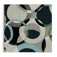 Carson Carrington Taby Hand-Tufted Geometric Indoor Area Rug - 4'