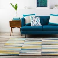 Carson Carrington Raahe Hand-Tufted Geometric Wool Area Rug - 8' x 11'