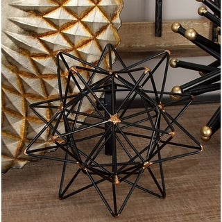Carson Carrington Alavus Metal Wire Star Decor 7-inch x 7-inch Accent Piece