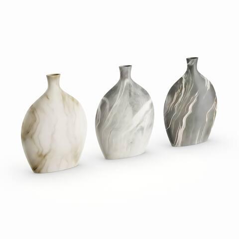 Carson Carrington Alavus Classy Ceramic Vase Assorted 3