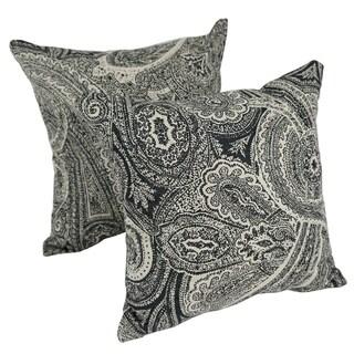 Paisley Dream 17-inch Indoor/Outdoor Throw Pillow (Set of 2)