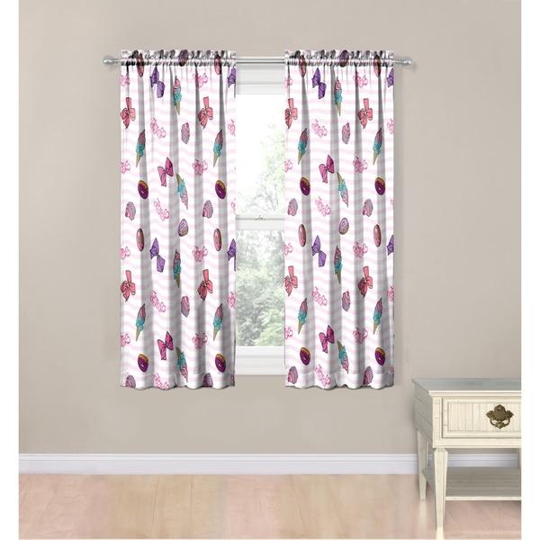 Shop Nickelodeon Jojo Siwa Sweet Life 4 Piece Curtain Drapes Set
