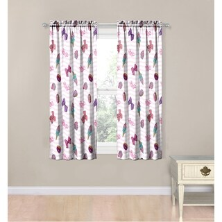 Nickelodeon JoJo Siwa Sweet Life 4 Piece Curtain Drapes Set