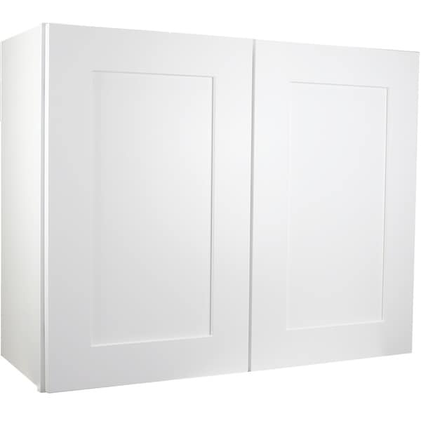 Shop Cabinet Mania White Shaker Kitchen Cabinet Wall