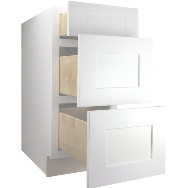 Shop Cabinet Mania White Shaker Kitchen Cabinet Drawer ...