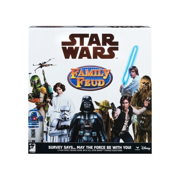 Cardinal Games Star Wars Family Feud Trivia Game