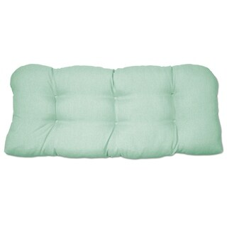 Tufted Outdoor Settee Cushion