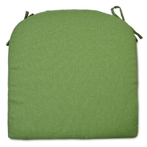 Round Back Outdoor Seat Cushion