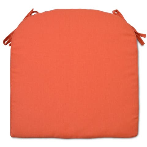 Round Back Outdoor Patio Chair Seat Cushion