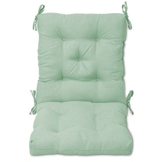 Tufted Outdoor Chair Cushion