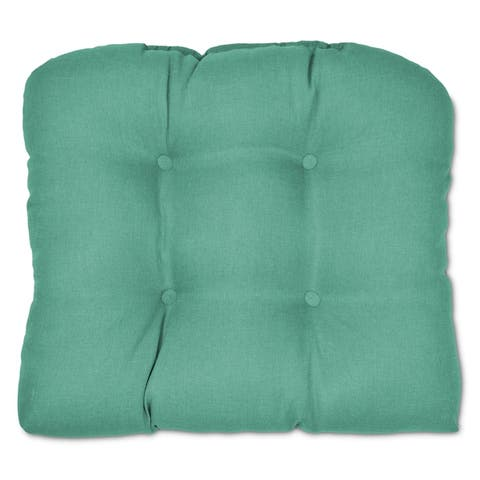 Tufted Outdoor Seat Cushion