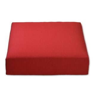 Outdoor Deep Seat Cushion (Option: Red)
