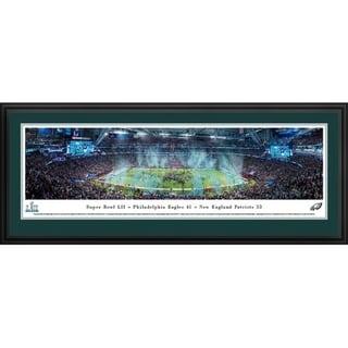 Blakeway Panoramas Super Bowl 2018 Philadelphia Eagles Framed Print. Opens flyout.