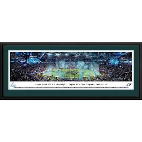 Blakeway Panoramas Super Bowl 2018 Philadelphia Eagles Framed Print