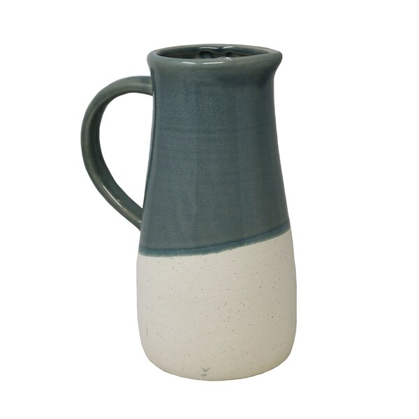 Shop Sagebrook Home 4040 Decorative Ceramic Pitcher Green Gorgeous Decorative Ceramic Pitchers