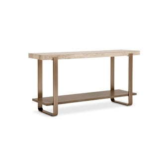 A.R.T. Furniture Cityscapes Griffith Grey Metal Console Table