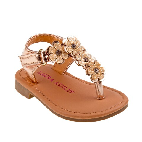 Laura Ashley Girl Toddler Thong Sandal