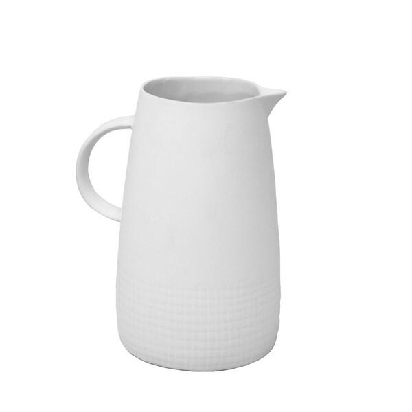 Shop Sagebrook Home 4040 Decorative Ceramic Pitcher White Cool Decorative Ceramic Pitchers