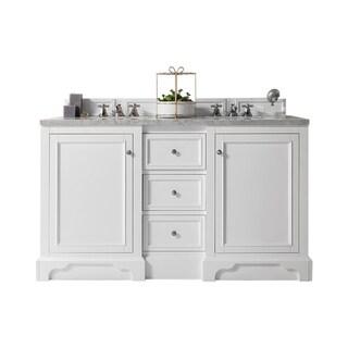 "Link to De Soto 60"" Double Vanity, Bright White Similar Items in Bathroom Vanities"